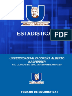 1 Estadistica 1 Presentacion