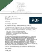 BPC Concern Letter