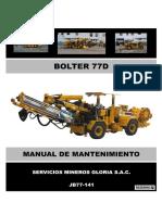 Manual Mantenimiento Bolter 77d - Jb77-141