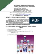 Probióticos  Guia  Para Pacientes  / Especialistas