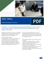 Flyer ISO 9001 PDF