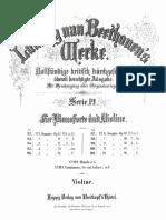 Beethoven Sonata 10 -Violin Part