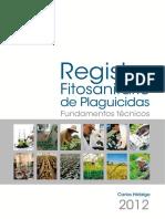 Registro Fitosanitario Plaguicidas 2013