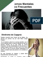 Trastornos Mentatales Poco Frecuentes