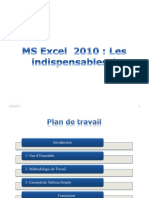 MS Excel 2010 Les Indispensables 1