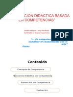 Planeamiento Didactico Por Competencias