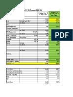 Infinity Revised Cost Break Up 2015-16