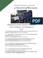 1436845 Rethinking Urban Movements Program