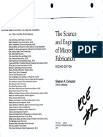 CAMPBELL the Science and Engineering of Microelectronic Fabrication