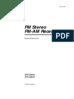 Sony STR-DB840 _ Operating Instructions