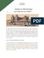 Hoteles Olvidados en Montevideo