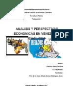 Analisis y Perspectivas Economicas en Venezuela en El 2017