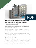Refrigeração e Escape de Gases Em Moldes de Injeção Plástica