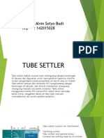 Tube Settler