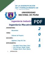 Informe Proyecto de Mecanismos