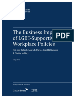 Business Impact LGBT Policies Full Report May 2013 Highlighted
