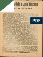 Tulio Montalbán y Julio Macedo Novela Inédita 3