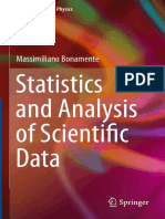 Statistics Analysis Scientific Data