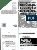 História Da Educação Brasileira - Maria Luisa Santos Ribeiro.pdf