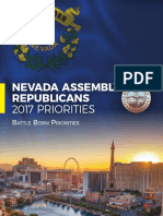 Nevada Assembly Republicans 2017 Priorities