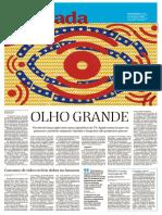 Folha de S.Paulo -Ilustrada. p. 1