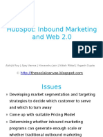 52208355-Case-Analysis-HubSpot-Inbound-Marketing-and-Web-2-0.pptx