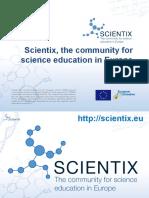 Иновативни практики и образователни технологии на Eвропейската Училищна Мрежа (EUN) и  проекта  Scientix