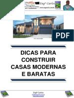 Dicas Para Construir Casas Modernas e Baratas
