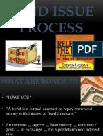 Bond Issue Process