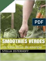 Smoothies Verdes_ Un Vaso Lleno - Stella Osterhoff