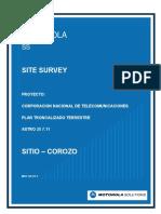 31 Motorola - Site Survey - Ecuador - Corozo