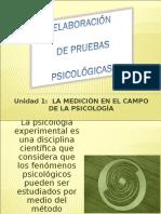La Medicion en El Campo de La Psicología