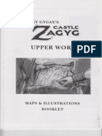Castles & Crusades - CZ2 - Castle Zagyg - The Upper Works - Book #6 - Maps & Illustrations Booklet
