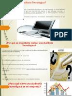 2.1.- ¿Qué Es La Auditoría Tecnológica
