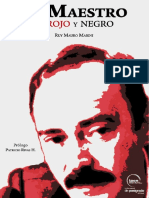 El Maestro en Rojo Y Negro_ Ruy Mauro Marini