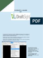Acotacion y Escala Con Draftsight