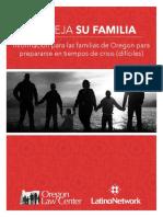 Family Preparedness Plan Spanish