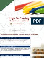 Sekolah Berprestasi Tinggi (High Performing School) di Malaysia