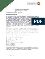Llamada Para Comunicaciones_VIII Congreso SAF Barcelona 2017