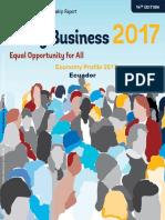Doing Business 2017 Ecuador