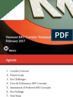 Vermont Ave Bus Rapid Transit technical study presentation