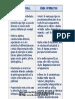 Política Editorial Línea Informativa
