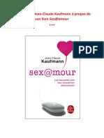 Kaufmann Jc Sexo Amor