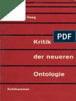 HAAG, Karl-Heinz. Zur Kritik der neueren Ontologie..pdf