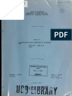 1957 REPORT - Weather Modification Operations in California