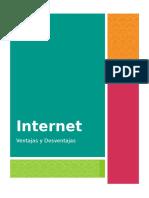 """Internet """"Ventajas y desventajas"""""""