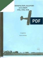 Bloomington Airport History
