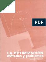 La Optimizacion Metodos Y Problemas