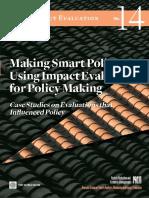 Politicas de evaluación de impacto