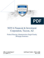 Hud Oig Nova Financial Audit Report